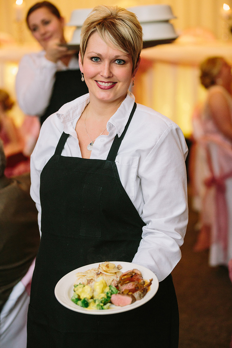 Maucieris' professional servers will take fantastic care of your wedding party.