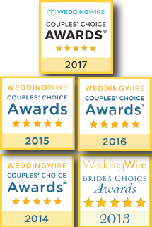 Wedding Wire Awards 2013-2016