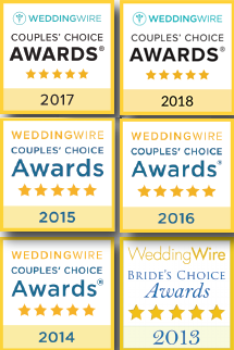 Wedding Wire Awards 2013-2018
